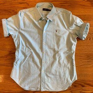 Ralph Lauren Polo Shirt Short Sleeve Button Down